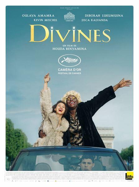 Divines affiche