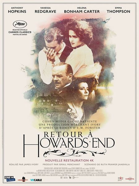 Retour %c3%a0 howards end affiche