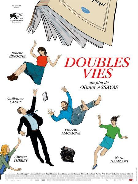 Doubles vies affiche