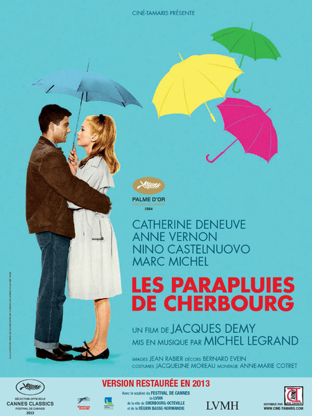 Les parapluies de cherbourg affiche