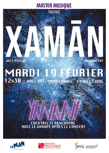 Concert xaman flyer v2