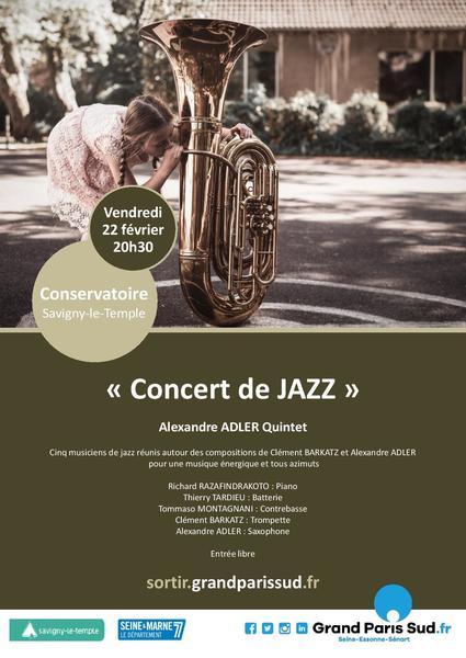 Quintet jazz affiche page 001
