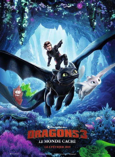 Dragons 3 affiche