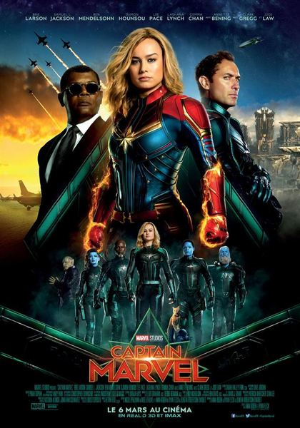 Captain marvel affiche