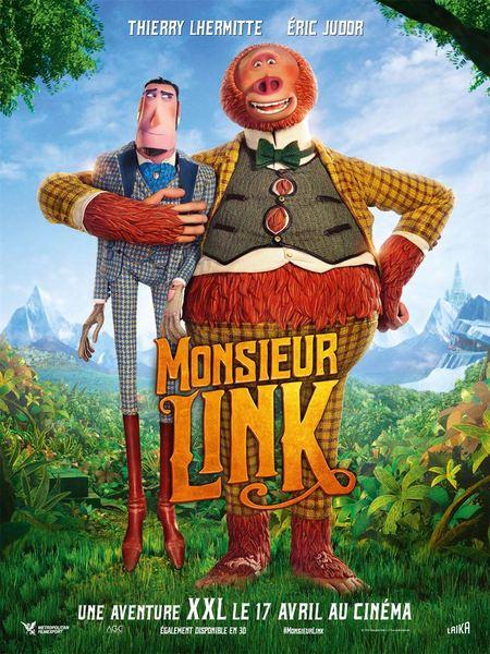 Monsieur link affiche