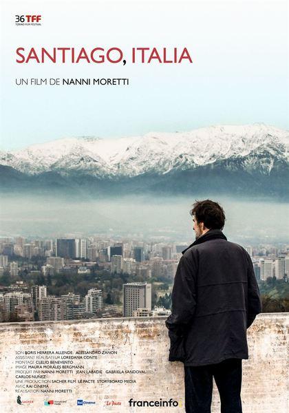 Santiago  italia affiche