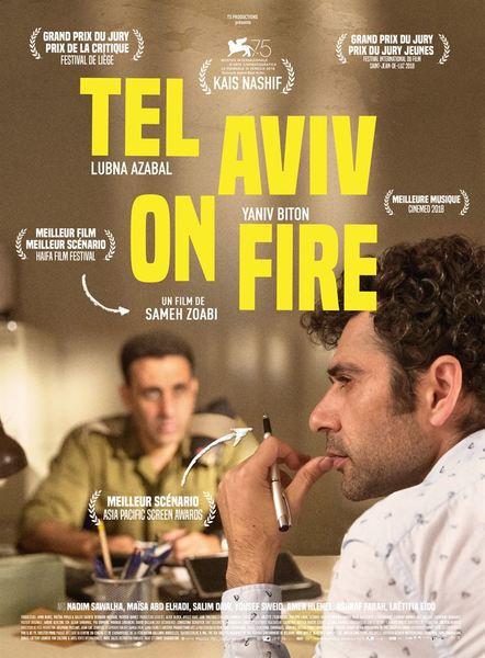 Tel aviv on fire affiche