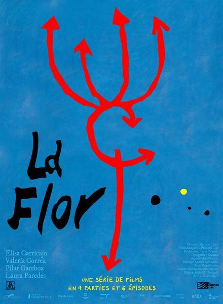 La flor affiche