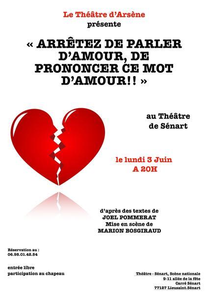 Theatre darsene 3 juin 2019