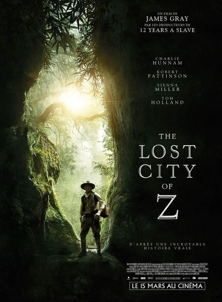 The lost city of z affiche