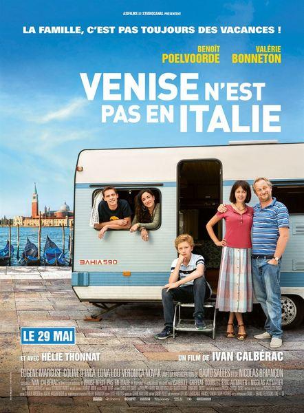 Venise n est pas en italie affiche