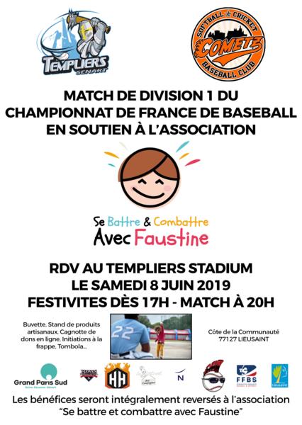 Flyer match soutien faustine format a6 v3