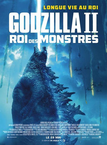 Godzilla 2 affiche